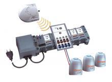 Wireless thermostat communication system