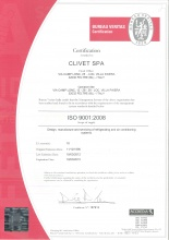 CLIVET ISO 9001
