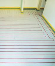 Σύστημα Ενδοδαπέδιας Θέρμανσης ξηράς δόμησης χαμηλού προφίλ