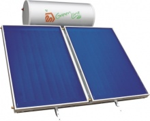 Solar System For DHW Green Line Strip